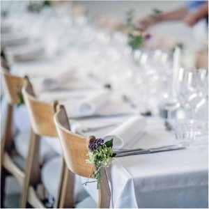 bryllup detaljer